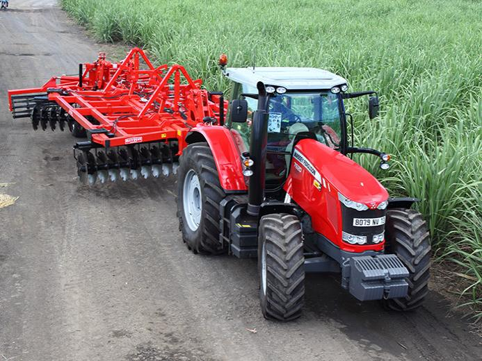 Massey Fergusson agricultural tractors